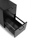 Black Stow 2-Drawer File Cabinet, Rolling,Black,hi-res