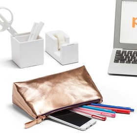 Copper Medium Accessory Pouch,Copper,hi-res