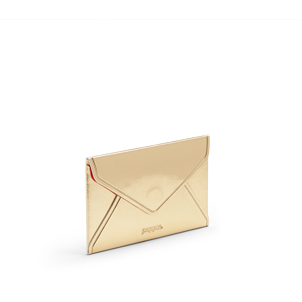 Gold Card Case| Desk Accessories & Organization | Poppin