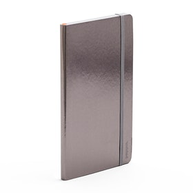 Gunmetal Medium Soft Cover Notebook,Gunmetal,hi-res