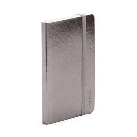 Gunmetal Small Soft Cover Notebook,Gunmetal,hi-res