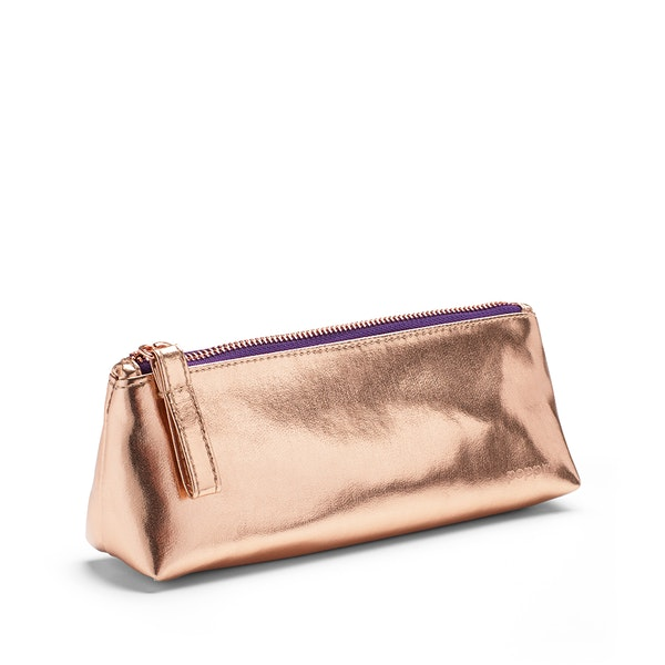 Copper + Purple Pencil Pouch,Copper,hi-res