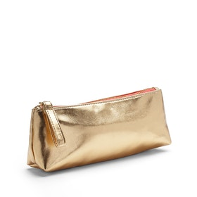 Gold Pencil Pouch,Gold,hi-res