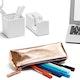 Copper + Purple Pencil Pouch,Copper,hi-res