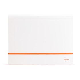 Orange Accordion File,Orange,hi-res