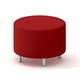 Alight Round Ottoman, Red,Red,hi-res