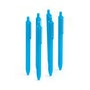 Retractable Ballpoint Pens, Set of 6,,hi-res
