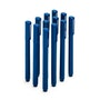Navy Signature Ballpoint Pens w/ Blue Ink, Set of 12,Navy,hi-res