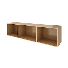 Warm Oak Bivi Depot Shelf,Warm Oak,hi-res