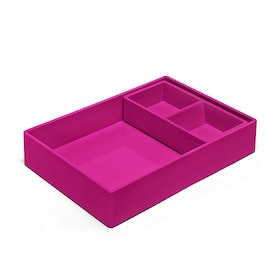 Pink Double Tray,Pink,hi-res