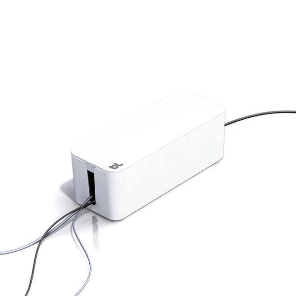White Large Cable Box,,hi-res