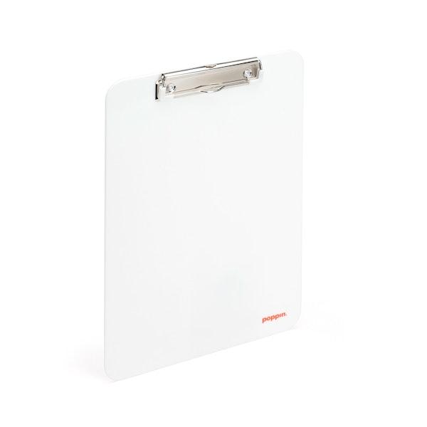 White Clipboard,White,hi-res