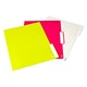 White, Pink + Lime Green Letter Size File Folders, Box of 24,Lime Green,hi-res