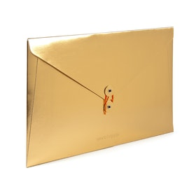 Gold Soft Cover Folio,Gold,hi-res