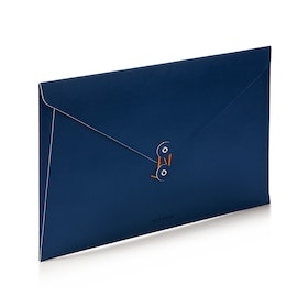 Navy Soft Cover Folio,Navy,hi-res