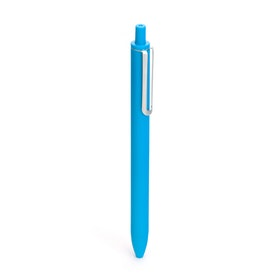 Pool Blue Retractable Gel Luxe Pens w/ Blue Ink, Set of 6,Pool Blue,hi-res