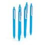 Pool Blue Retractable Gel Luxe Pen, Set of 6,Pool Blue,hi-res
