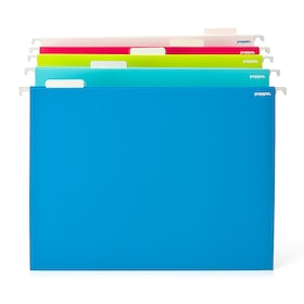 Assorted Letter Size Hanging Folders, Set of 25,Assorted,hi-res