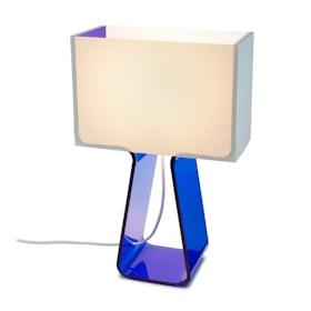 Blue Tube Top Lamp,Pool Blue,hi-res