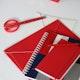 Red Scissors,Red,hi-res