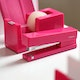 Pink Tape Dispenser,Pink,hi-res