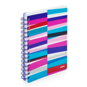 Purple Streamer Spiral Subject Notebook,Purple,hi-res