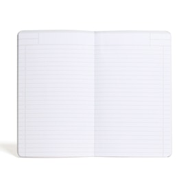 Light Gray Medium Softcover Notebook,Light Gray,hi-res
