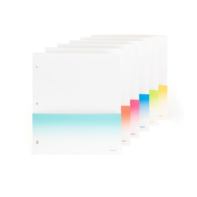 Binder Paper Pockets, Set of 6,,hi-res
