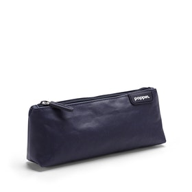 Navy + Mint Pencil Pouch,Navy,hi-res