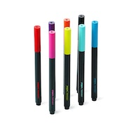 Assorted Slim Permanent Markers, Set of 8,,hi-res