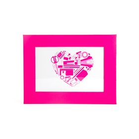 "Pink 4"" x 6"" Picture Frame,Pink,hi-res"