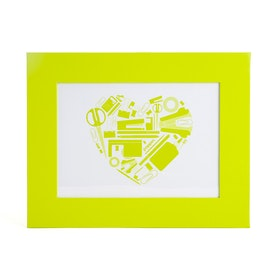 "Lime Green  5"" x 7"" Picture Frame,Lime Green,hi-res"