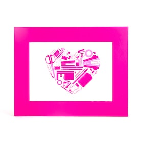 "Pink 5"" x 7"" Picture Frame,Pink,hi-res"
