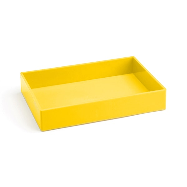 Yellow Medium Accessory Tray,Yellow,hi-res
