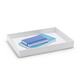 White Large Accessory Tray,White,hi-res