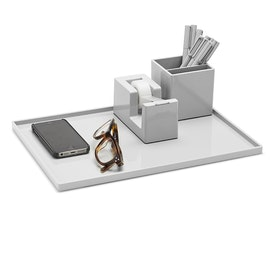 Light Gray Large Slim Tray,Light Gray,hi-res