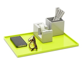 Lime Green Large Slim Tray,Lime Green,hi-res