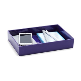 Purple Medium Accessory Tray,Purple,hi-res