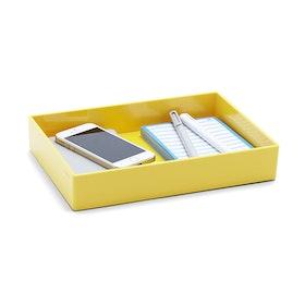 Yellow Medium Accessory Tray,Yellow,hi-res