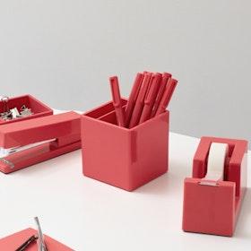 Coral Pen Cup,Coral,hi-res