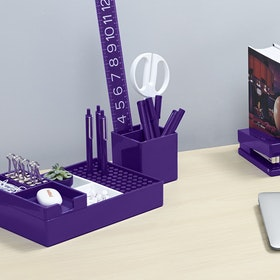 Purple Pen Cup,Purple,hi-res