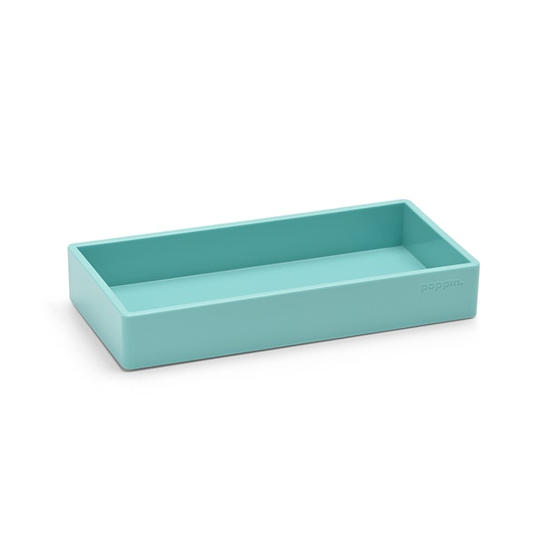 Aqua Small Accessory Tray,Aqua,hi-res