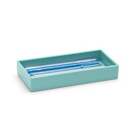 Aqua Small Accessory Tray,Aqua,hi-res