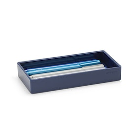 Navy Small Accessory Tray,Navy,hi-res
