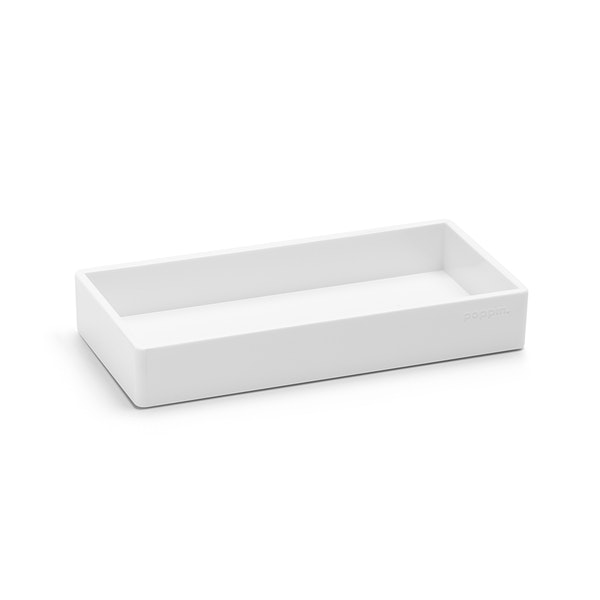 White Small Accessory Tray,White,hi-res
