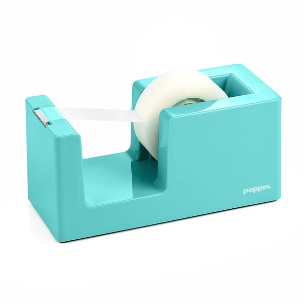 Aqua Tape Dispenser,Aqua,hi-res