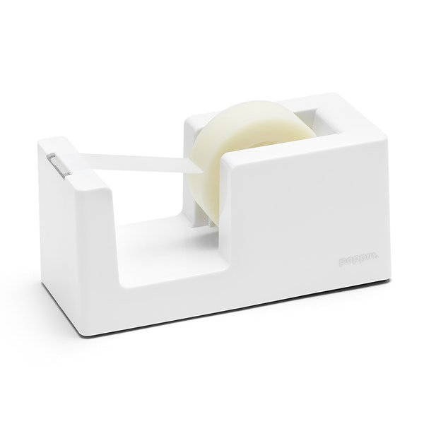 White Tape Dispenser,White,hi-res