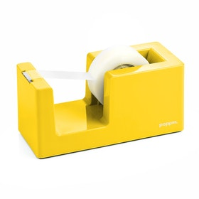 Yellow Tape Dispenser,Yellow,hi-res