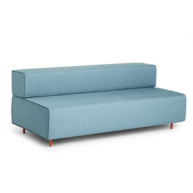 Blue Block Party Lounge Sofa,Blue,hi-res