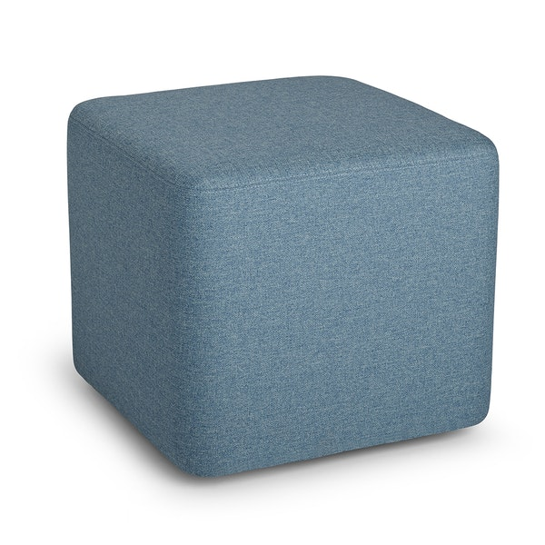 Blue Block Party Lounge Ottoman,Pool Blue,hi-res